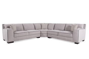 Boulevard Heather Three-Piece Sectional
