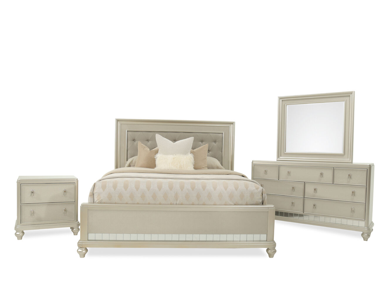 Mathis Brothers Bedroom Furniture Samuel Lawrence Diva Bed Suite Mathis Brothers Furniture