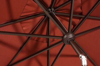 Treasure Garden Henna 9' Push Button Umbrella