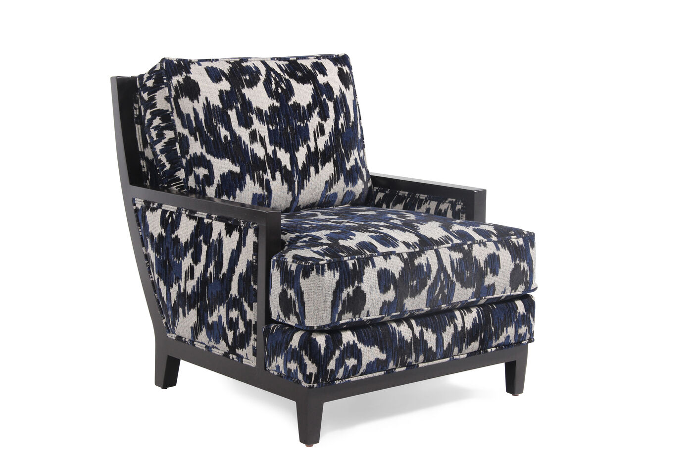 Jonathan Louis Clarice Wood Accent Chair Mathis Brothers