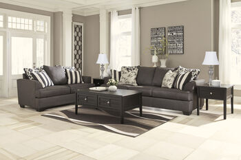 Ashley Levon Charcoal Sofa