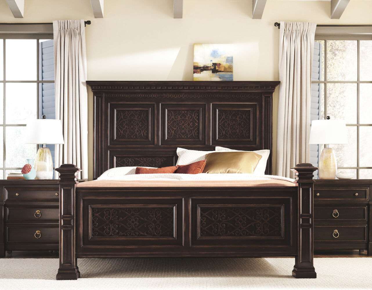 Bernhardt Pacific Canyon King Panel Bed