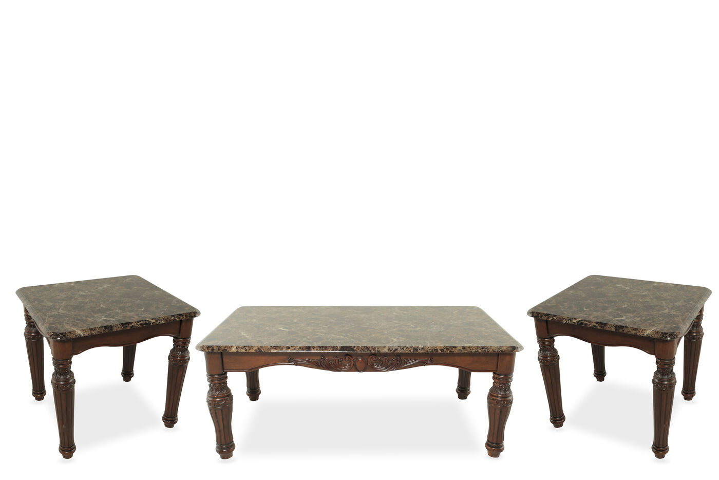 Ashley North Shore Three Pack Of Tables Mathis Brothers Furniture