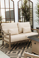 Castelle Roma Patio Loveseat