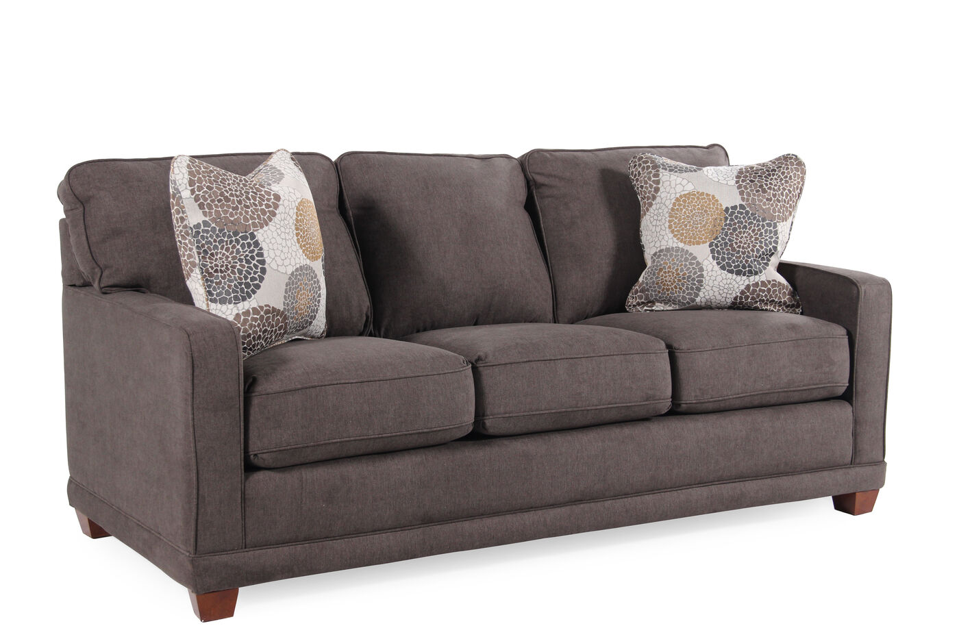 La Z Boy Kennedy Granite Sofa Mathis Brothers Furniture