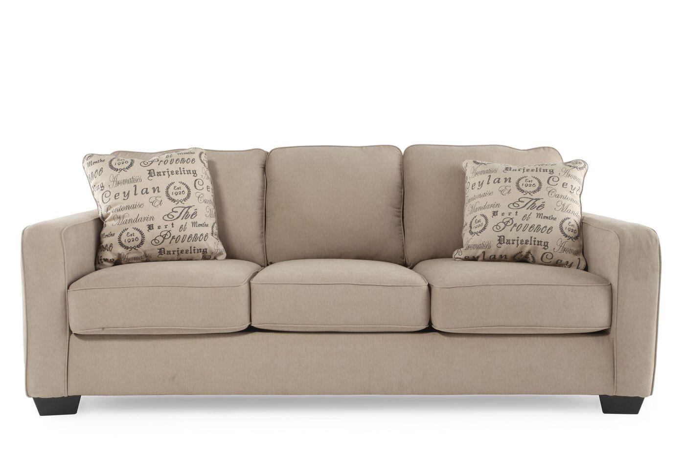 alenya quartz sofa mathis brothers furniture