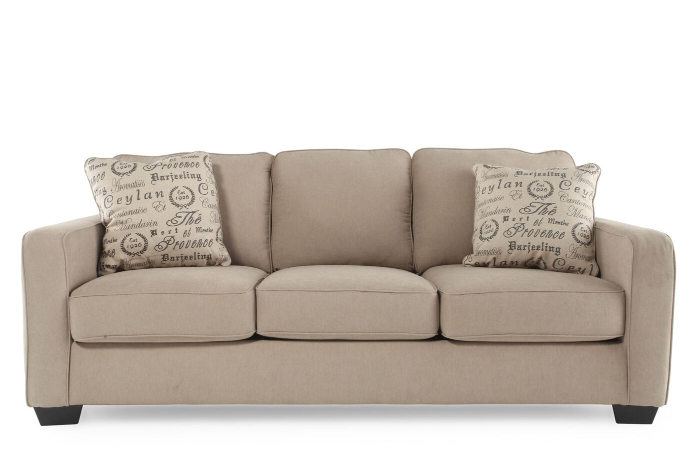 Ashley Alenya Quartz Sofa Mathis Brothers Furniture