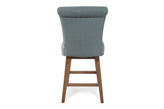 Boulevard Blue Swivel Counter Stool Mathis Brothers
