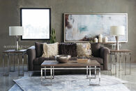 Jonathan Louis Carter Gray Sofa
