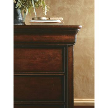 Stanley Louis Philippe Burnished Honey Chest