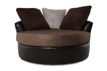 Ashley Masoli Mocha Swivel Chair