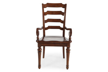 Hooker Select Tynecastle Pair of Ladder Back Arm Chairs