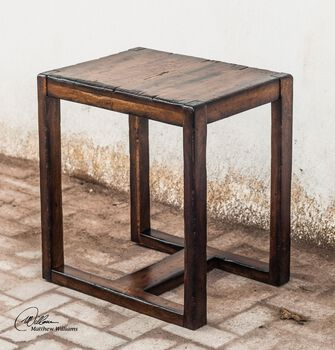 Uttermost Deni Wooden End Table