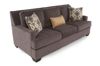 Ashley barinteen granite sofa mathis brothers furniture for Sofa bed 91762