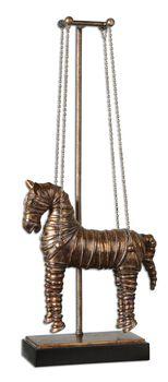 Uttermost Stedman Horse Copper Bronze Sculpture