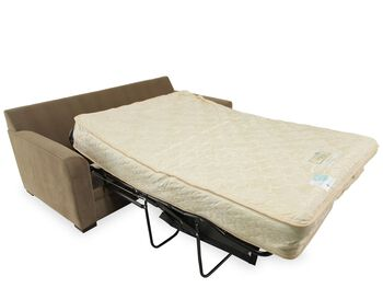 jonathan louis full sleeper sofa with air mattress mathis brothers furniture. Black Bedroom Furniture Sets. Home Design Ideas