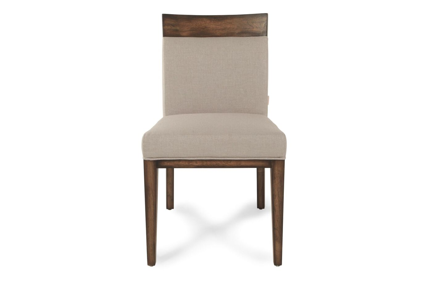 Boulevard Linen Khaki Dining Chair Mathis Brothers Furniture