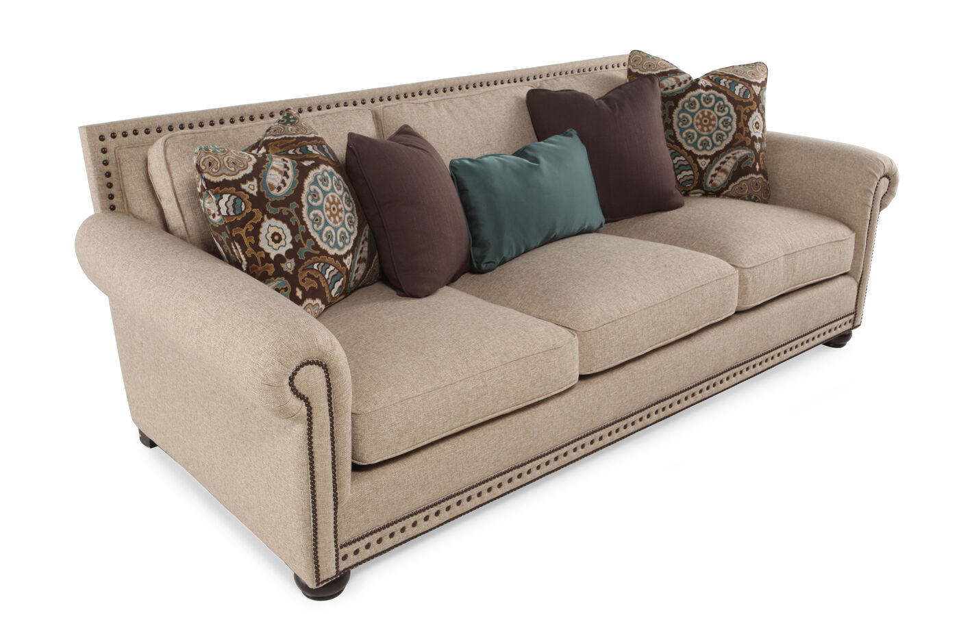 Bernhardt caroline sofa mathis brothers furniture for Where to buy bernhardt furniture online