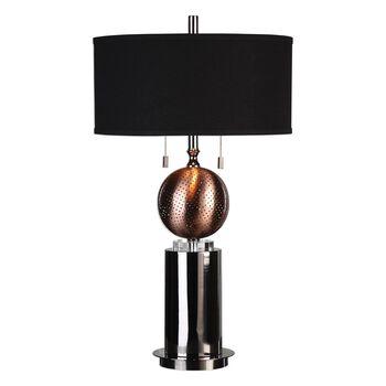 Uttermost Azle Oxidized Copper Lamp