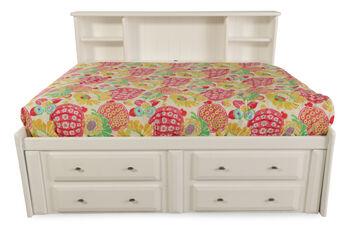 Trendwood Laguna White Full Bed