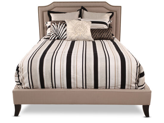 Jonathan Louis Scarlet Bed Mathis Brothers Furniture