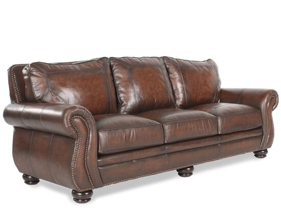Bernhardt Breckenridge Leather Sofa