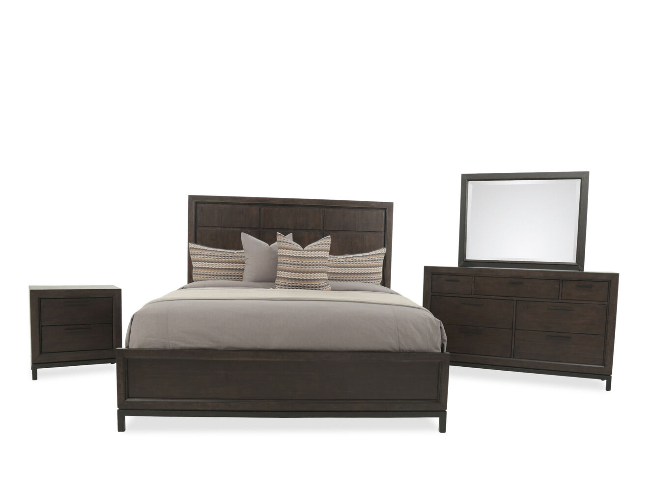 Samuel Lawrence Fulton Oak Queen Bedroom Suite. Bedroom Sets   Bedroom Suites   Mathis Brothers