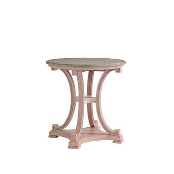 Stanley Preserve Rose Myrtle Lamp Table