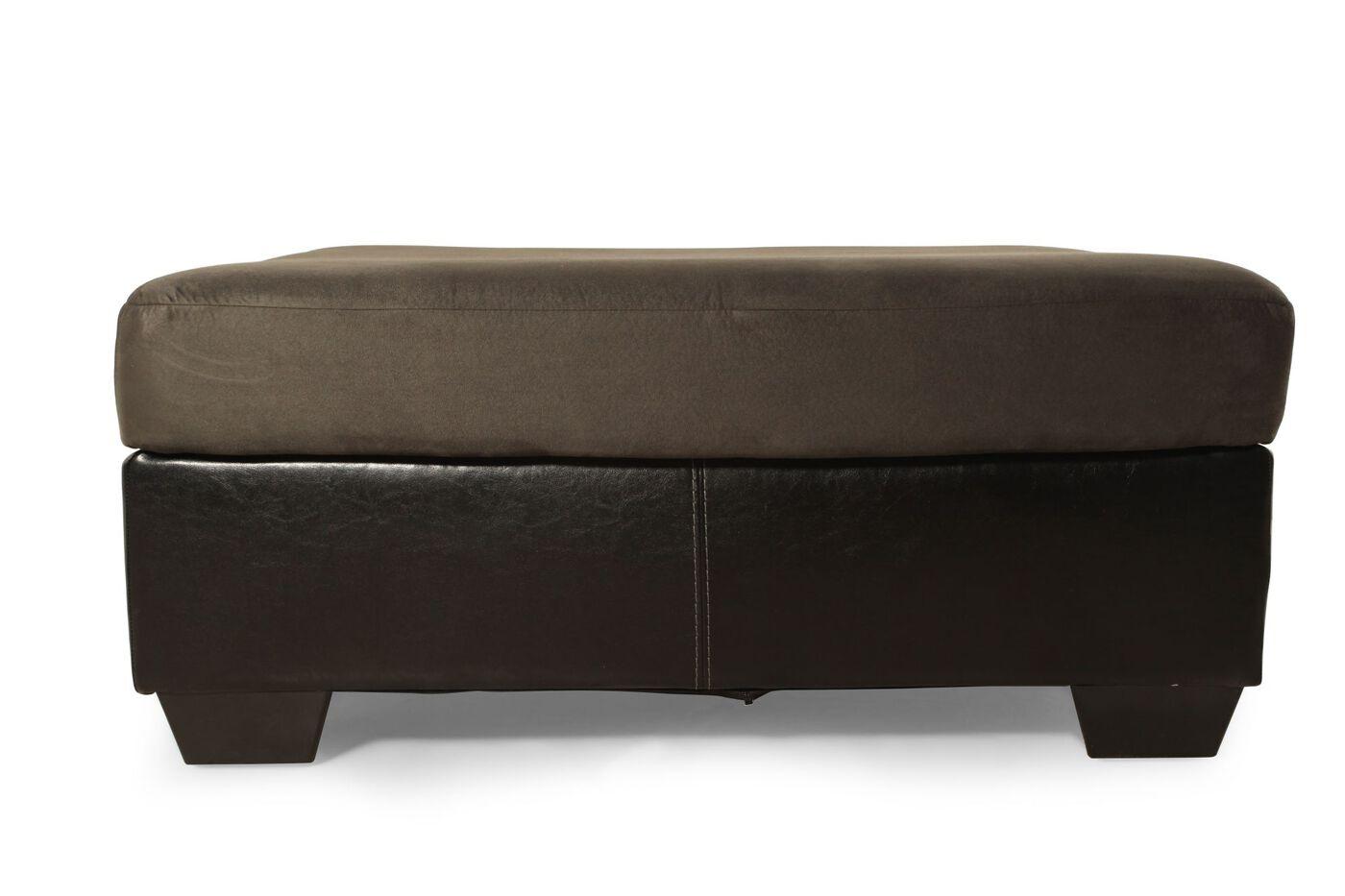 Ashley Masoli Cobblestone Ottoman Mathis Brothers Furniture