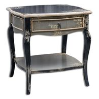 Uttermost Andrin Distressed Side Table