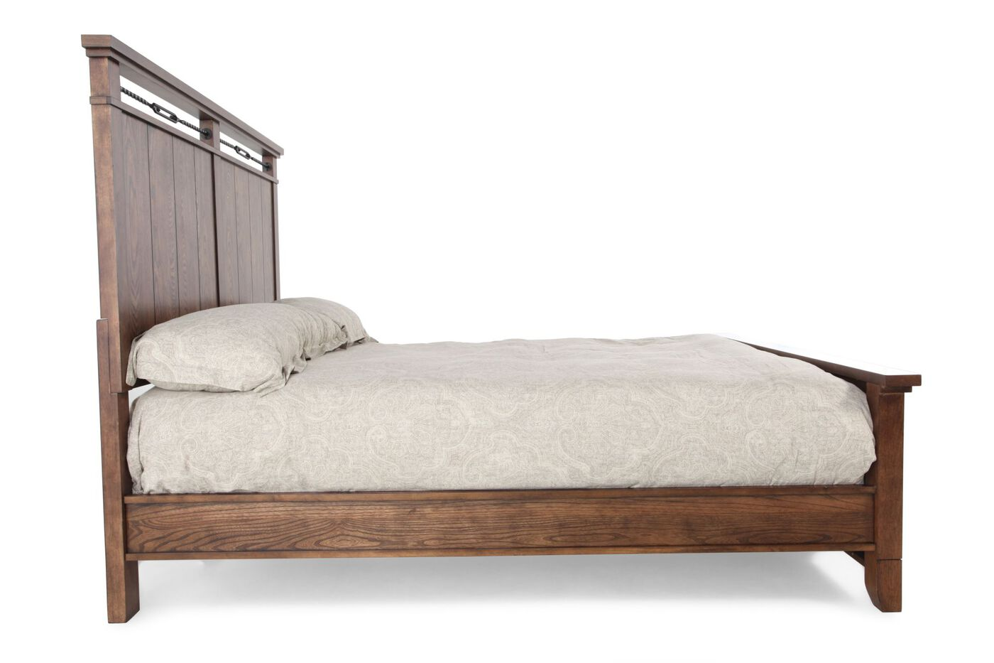 legacy river run panel bed mathis brothers furniture