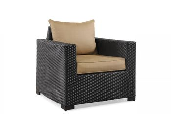 World Source Brevard Club Chair with Cushion