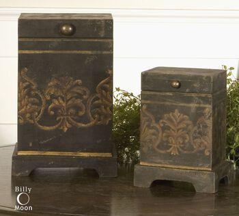 Uttermost Melani Decorative Boxes, Set/2