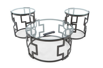Ashley Frostine Three Pack of Tables
