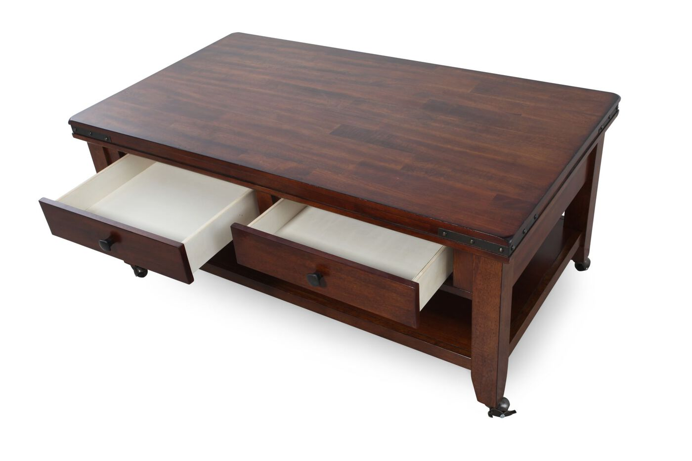 winners only mango coffee table | mathis brothers furniture