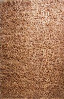 LBJ Hand Tufted Polyester Bronze 5' X 5' Round Rug