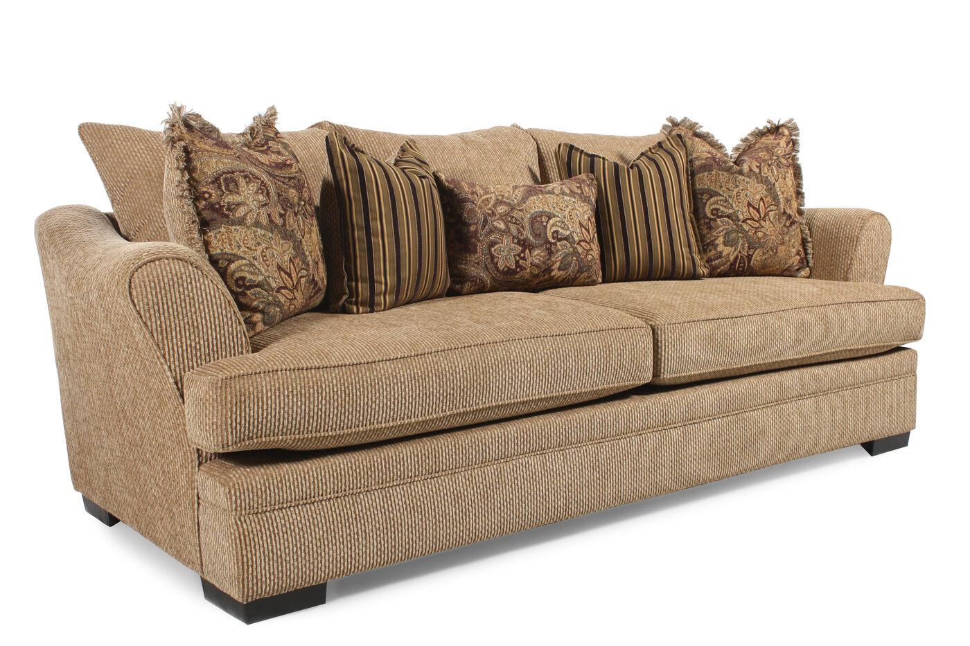Michael nicholas garland sofa mathis brothers furniture for Michael apartment sofa