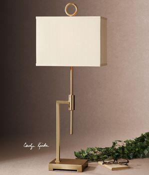 Uttermost Feldon Coffee Bronze Accent Lamp