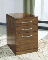 Ashley Lobink Brown File Cabinet