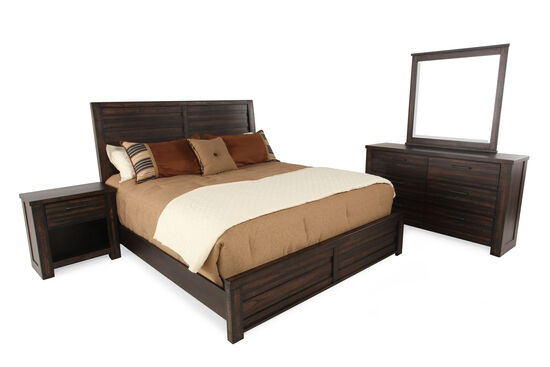 samuel lawrence ruff hewn bedroom suite mathis brothers furniture