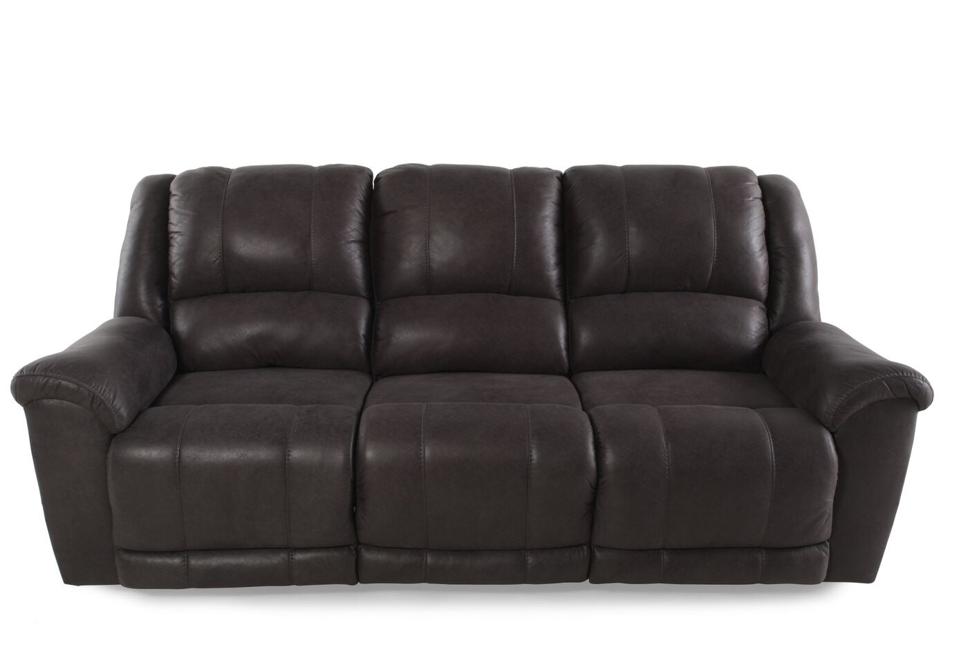 Ashley Niarobi Alloy Reclining Sofa Mathis Brothers