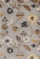 LBJ Hand Tufted Wool/Viscose Ash/ash 8' X 8' Round Rug