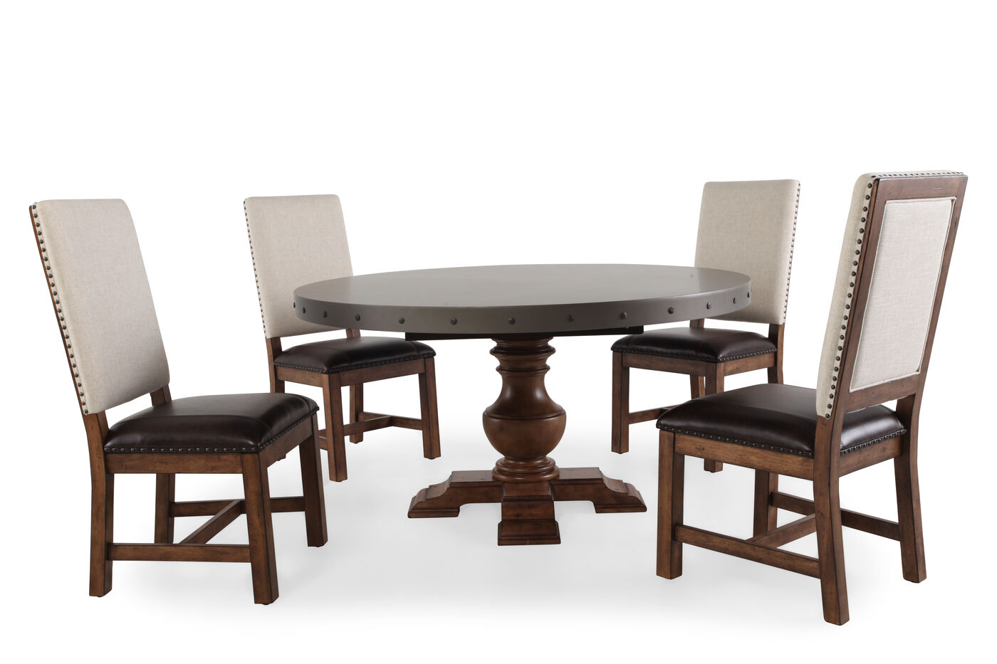 Pulaski Reddington Five Piece Dining Table Mathis Brothers Furniture