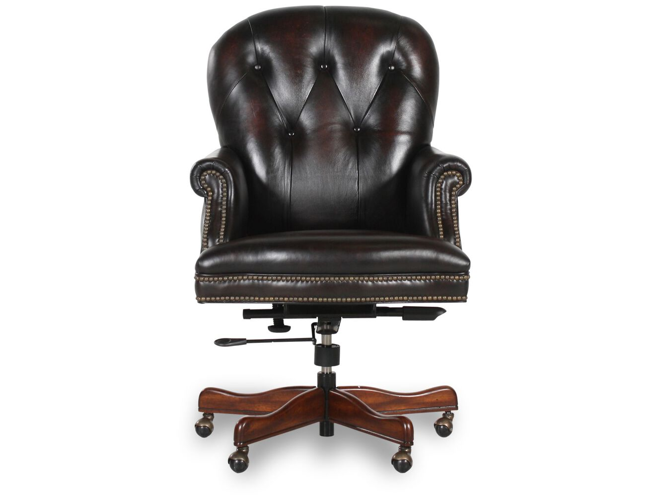 Bradington young james river edgewood executive swivel for Swivel chairs for office