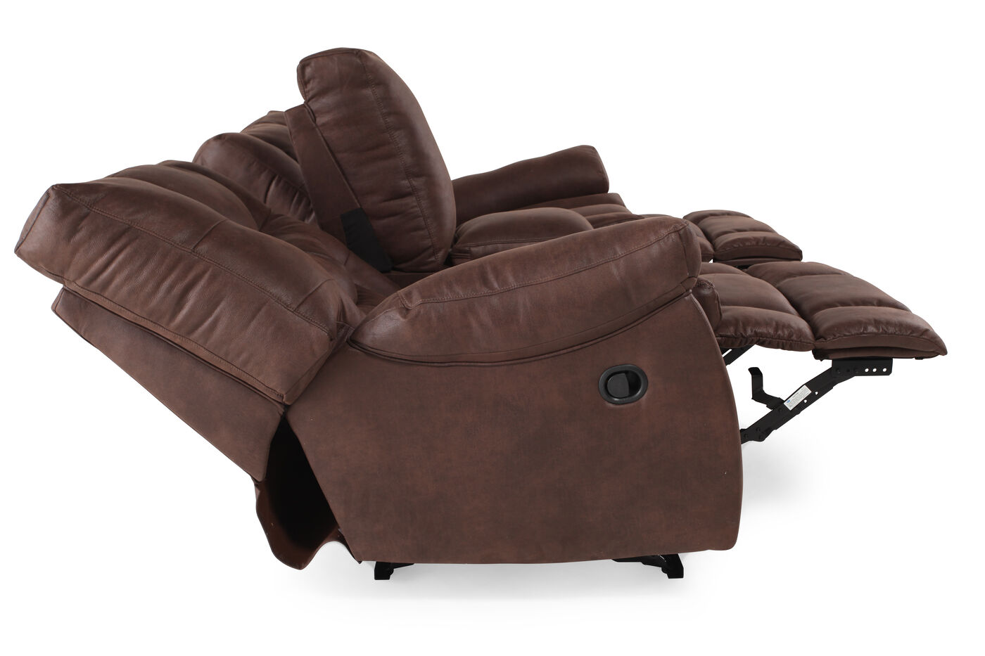 Ashley Burgett Motion Loveseat With Console Mathis