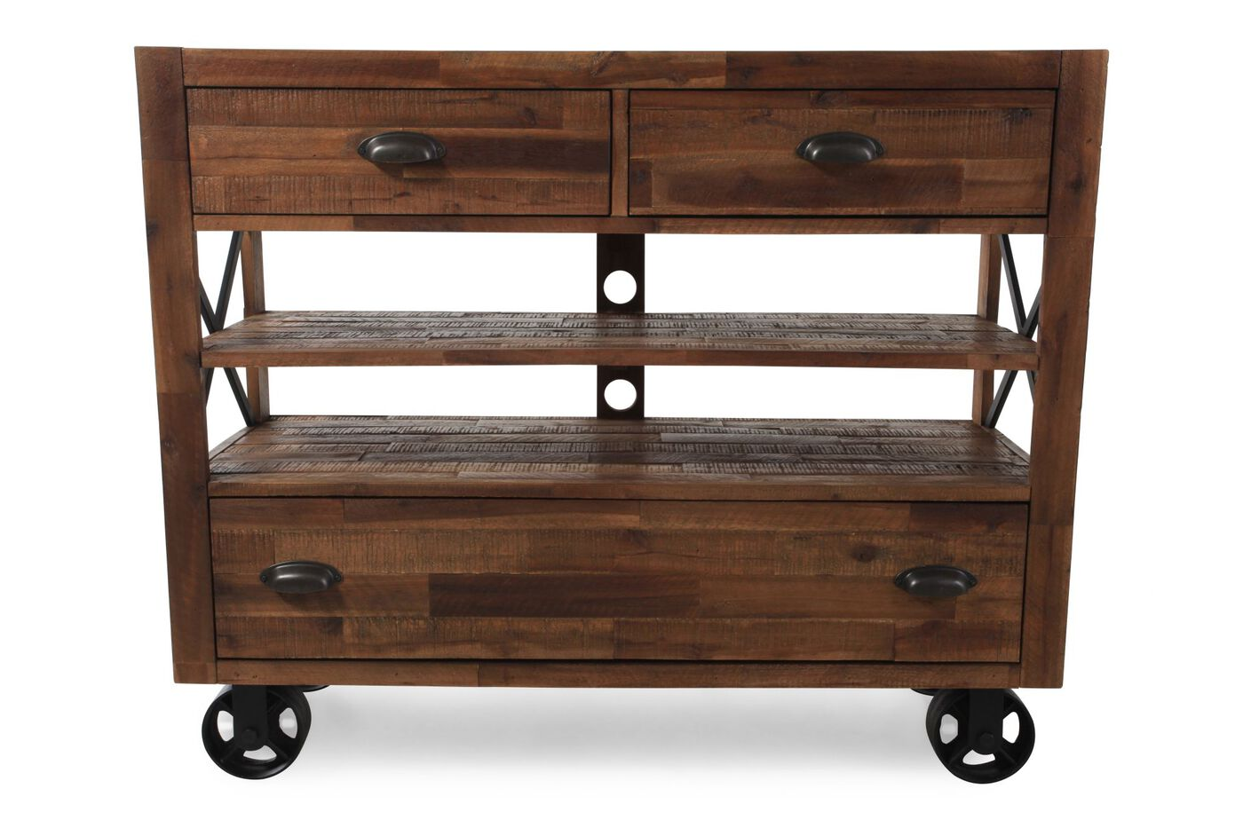 Magnussen Home River Ridge Media Chest Mathis Brothers Furniture