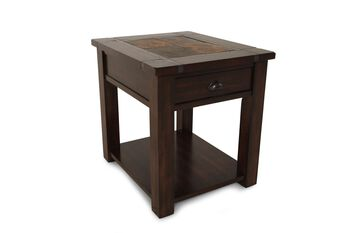 Magnussen Home Rectangular End Table