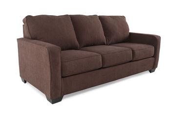 Ashley Zeb Espresso Queen Sleeper Sofa
