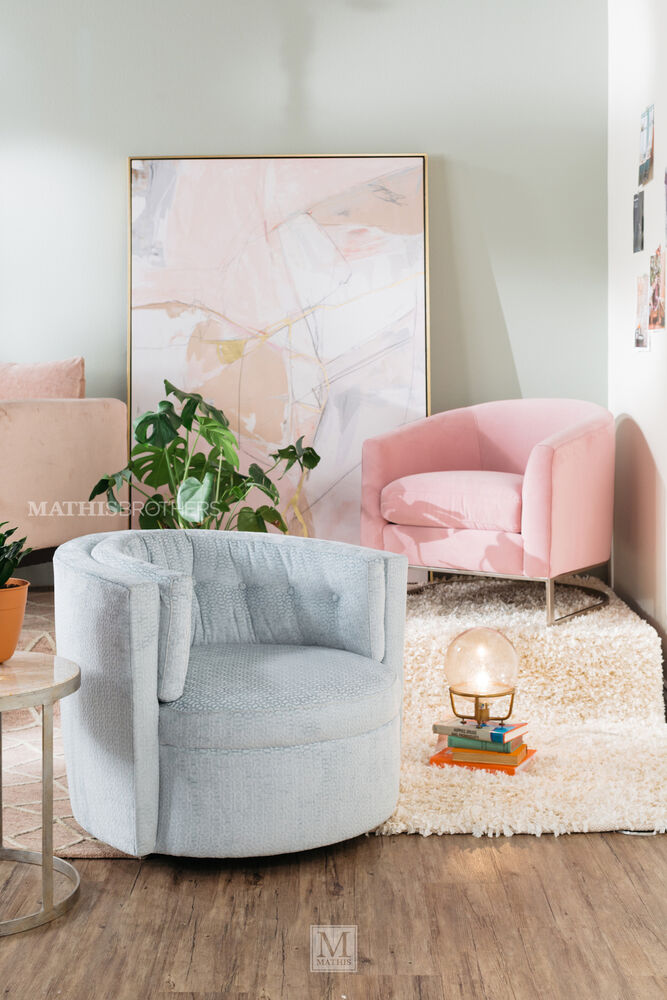 Jonathan Louis Mia Swivel Chair Mathis Brothers Furniture