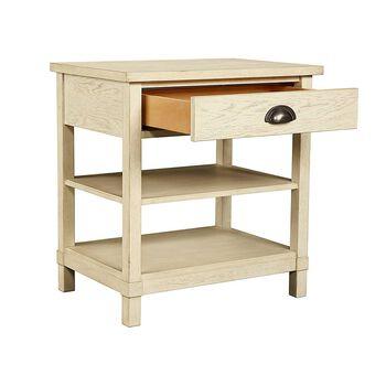 Stone & Leigh Driftwood Park Vanilla Oak Bedside Table